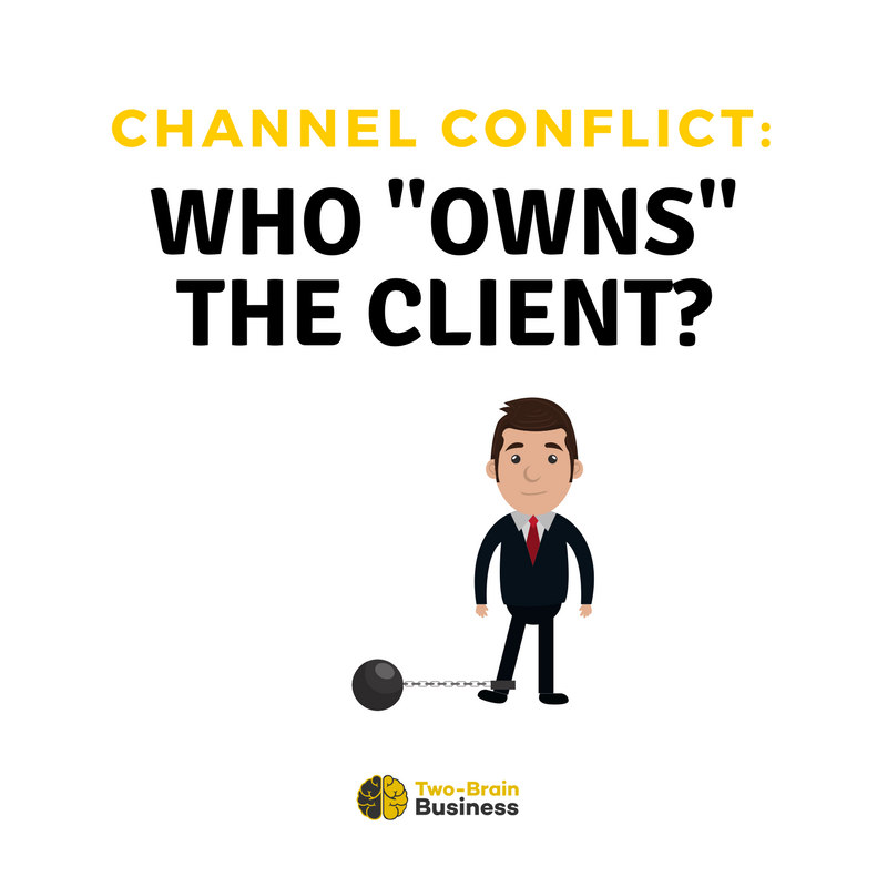 """Channel Conflict: Who """"Owns"""" A Client?"""